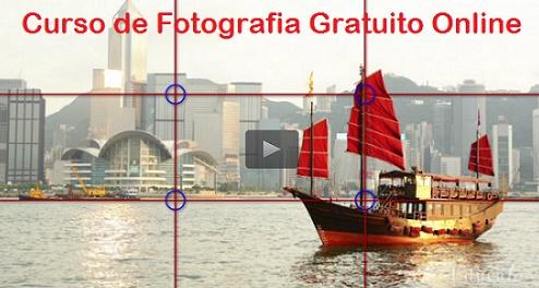 Curso de Fotografia Gratis Online